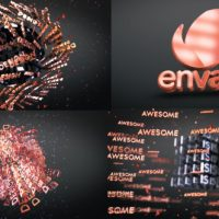 VIDEOHIVE 3D TEXT SHAPES LOGO REVEAL FREE DOWNLOAD