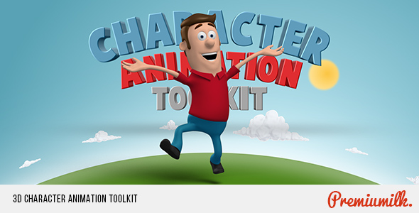 VIDEOHIVE 3D CHARACTER ANIMATION TOOLKIT FREE DOWNLOAD