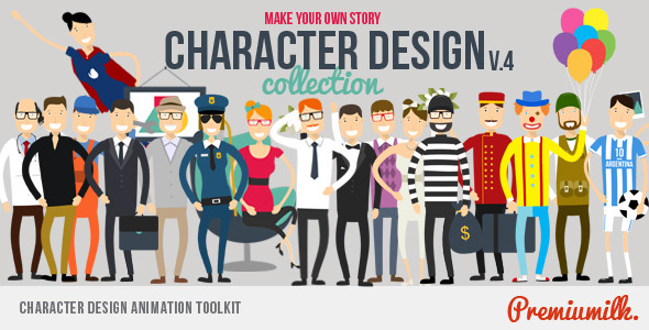 Character Design Download : Videohive character design animation toolkit free download