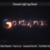VIDEOHIVE CINEMATIC LIGHT LOGO REVEAL FREE AFTER EFFECTS TEMPLATE