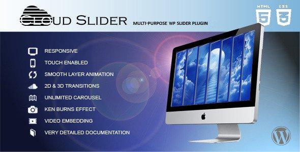 Cloud Slider v1 1 0 – Responsive WordPress Slider Free