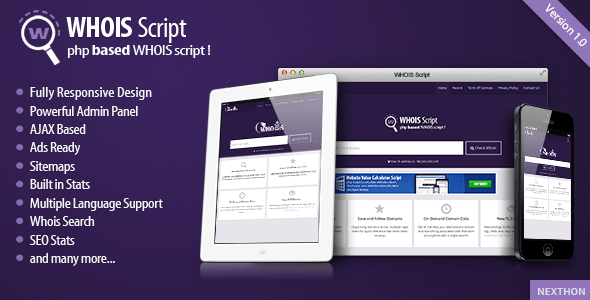 Whois Script v1 5 – CodeCanyon 10572196 Free Download - Free After