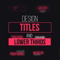 VIDEOHIVE DESIGN TITLES AND LOWER THIRDS FREE DOWNLOAD