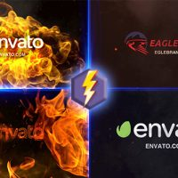 VIDEOHIVE FIRE LOGO FREE AFTER EFFECTS TEMPLATE