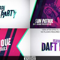 VIDEOHIVE FLASH MUSIC EVENT FREE AFTER EFFECTS TEMPLATE