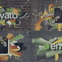 GRAFFITI LOGO FREE AFTER EFFECTS TEMPLATE
