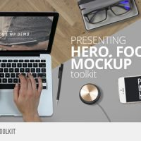 HERO FOOTAGE MOCKUP TOOLKIT – VIDEOHIVE FREE DOWNLOAD