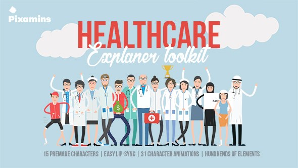 VIDEOHIVE HEALTHCARE EXPLAINER TOOLKIT FREE DOWNLOAD - Free After