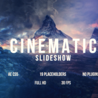 VIDEOHIVE CINEMATIC SLIDESHOW 16382418 FREE DOWNLOAD