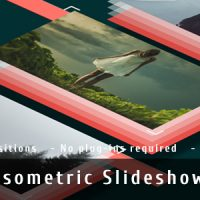 VIDEOHIVE ISOMETRIC SLIDESHOW FREE DOWNLOAD