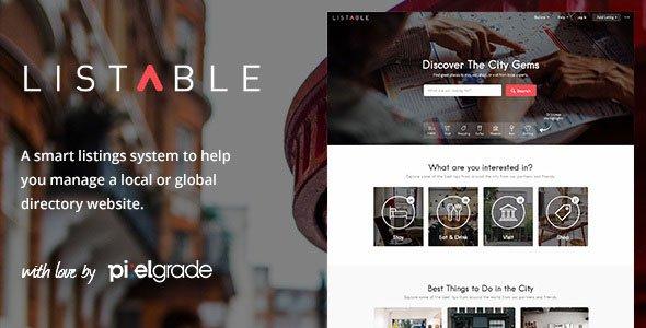 LISTABLE-----A-Friendly-Directory-WordPress-Theme