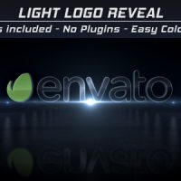 VIDEOHIVE LIGHT LOGO REVEAL FREE AFTER EFFECTS TEMPLATE