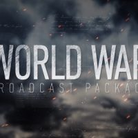 VIDEOHIVE WORLD WAR BROADCAST PACKAGE FREE DOWNLOAD