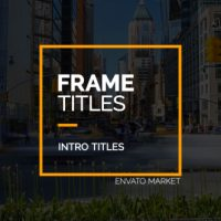 VIDEOHIVE FRAME TITLES FREE AFTER EFFECTS TEMPLATE