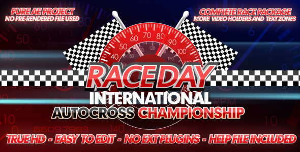 Race Day - A Complete Racing Package 2417635