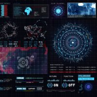 VIDEOHIVE SCI-FI INTERFACE HUD FREE DOWNLOAD