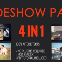 VIDEOHIVE SLIDESHOW PACK 4 IN 1 FREE DOWNLOAD