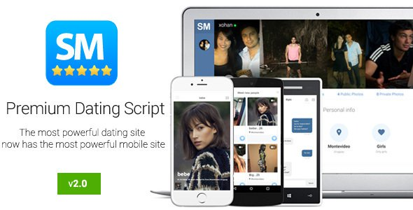 Social Match Pro v2.0 – Premium Dating Script Free Download - Free ...
