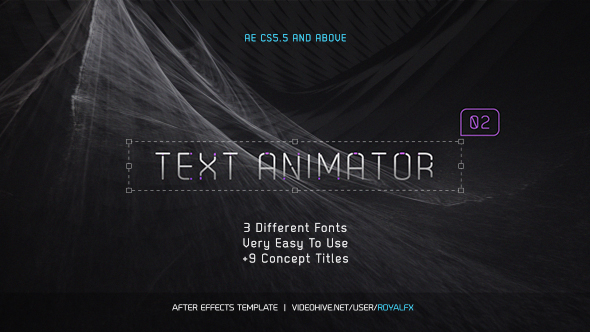 free after effects title templates - videohive text animator 02 stylish clean titles free