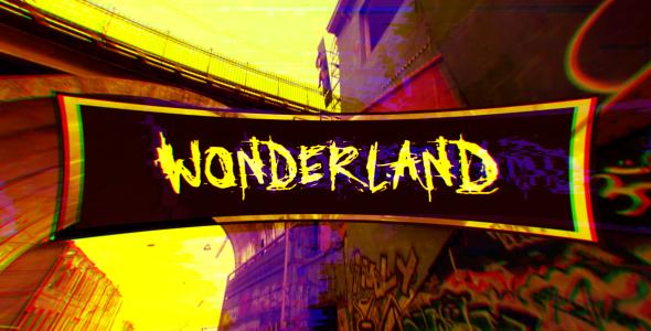 Wonderland (Glitch Art Slideshow) 15929551