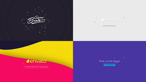 videohive flat logo animations free after effects template