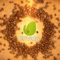 VIDEOHIVE COFFEE BEANS LOGO FREE AFTER EFFECTS TEMPLATE