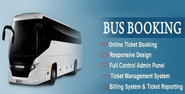 Ebus V1 0 Online Bus Reservation Ticket Booking System Free