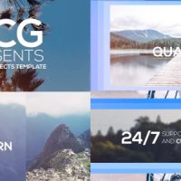 SLIDING TITLES OPENER FREE AFTER EFFECTS TEMPLATE