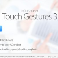 PROFESSIONAL TOUCH GESTURES – PROJECTS FOR AFTER EFFECTS (VIDEOHIVE)