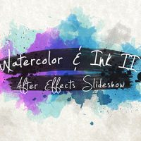 VIDEOHIVE WATERCOLOR & INK SLIDESHOW 2 FREE DOWNLOAD