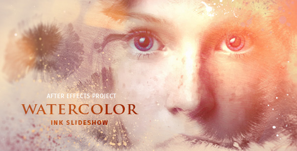VIDEOHIVE WATERCOLOR INK SLIDESHOW FREE DOWNLOAD - Free After