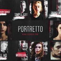 VIDEOHIVE PORTRETTO GRUNGE SLIDESHOW FREE DOWNLOAD