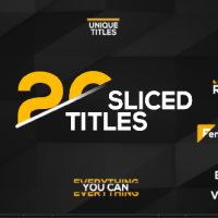 VIDEOHIVE 20 SLICED TITLES PACK FREE DOWNLOAD