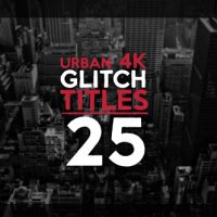 VIDEOHIVE 25 URBAN GLITCH TITLES FREE DOWNLOAD
