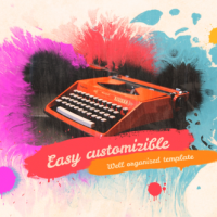 VIDEOHIVE COLORFUL INK SLIDESHOW FREE DOWNLOAD