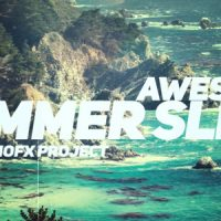 VIDEOHIVE AWESOME SUMMER SLIDE FREE DOWNLOAD