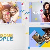 VIDEOHIVE AWESOME PEOPLE SLIDESHOW FREE DOWNLOAD