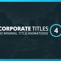 VIDEOHIVE CORPORATE TITLES 4 FREE AFTER EFFECTS TEMPLATE