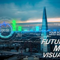 VIDEOHIVE FUTURISTIC MUSIC VISUAL FREE DOWNLOAD