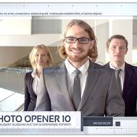VIDEOHIVE GRID PHOTO OPENER – CORPORATE SLIDESHOW
