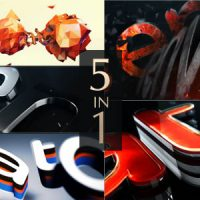 VIDEOHIVE LOGO REVEAL PACK FREE DOWNLOAD