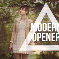 VIDEOHIVE MODERN FASHION OPENER FAST GLITCH SLIDESHOW FREE