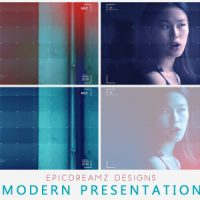 VIDEOHIVE MODERN PRESENTATION FREE AFTER EFFECTS TEMPLATE