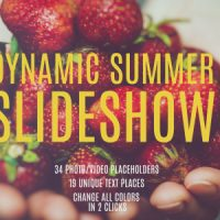 VIDEOHIVE DYNAMIC SUMMER SLIDESHOW FREE DOWNLOAD