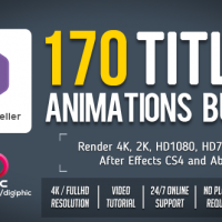 VIDEOHIVE 170 TITLES ANIMATIONS BUNDLE FREE DOWNLOAD