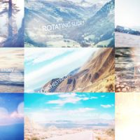 VIDEOHIVE ROTATING SLIDES FREE AFTER EFFECTS TEMPLATE