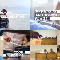 VIDEOHIVE SIMPLE BIG TYPO SLIDES FREE DOWNLOAD