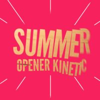 VIDEOHIVE SUMMER OPENER KINETIC FREE DOWNLOAD