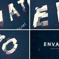 VIDEOHIVE ALPHABET LOGO REVEAL FREE AFTER EFFECTS TEMPLATE
