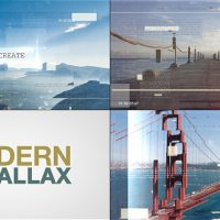VIDEOHIVE MODERN PARALLAX SLIDESHOW FREE DOWNLOAD